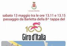 locandina giro d'italia - il percorso