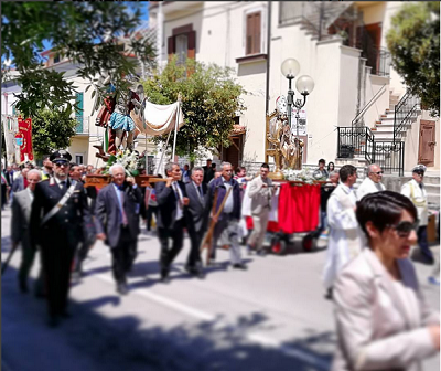 processione cagnano varano