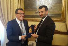 sindaco riceve rappresentanti ministero