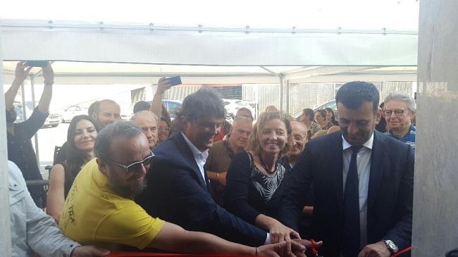 inaugurazione presidio sociale in piazza balenzano