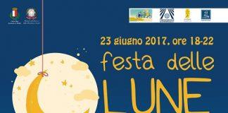 locandina della festa delle lune