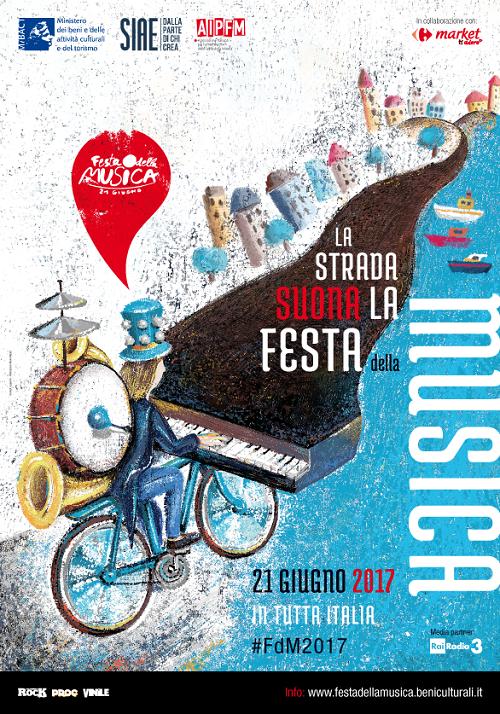 locandina festa della musica 2017