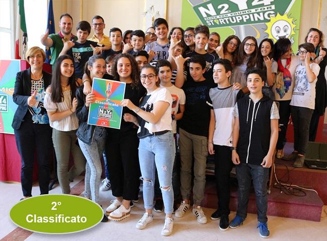 "premio ""N2Y4 startupping"" presso il galilei-costa"