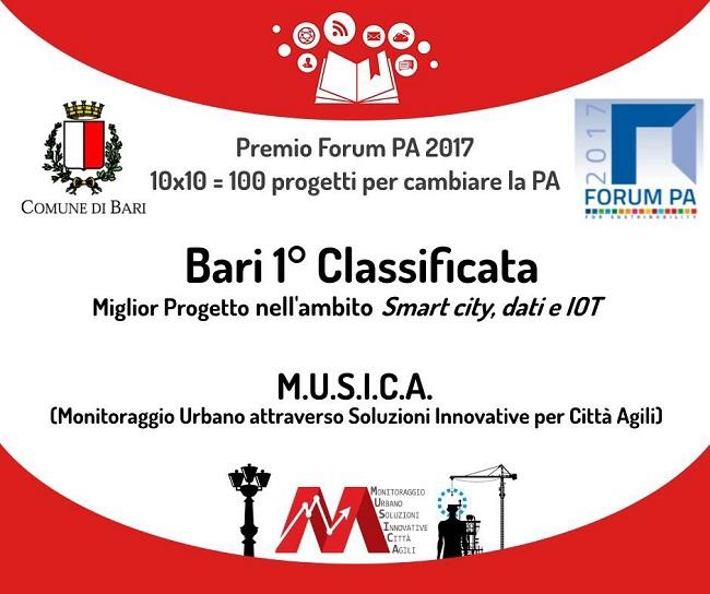 premio progetto musica a forum pa