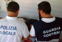 sequestri polizia locale e guardia costiera