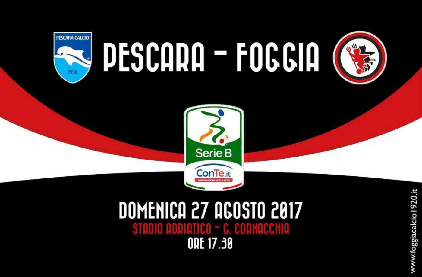 Foggia calcio: informazioni sui biglietti e diretta della partita a Pescara