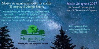 notte in masseria sotto le stelle 26 agosto 2017