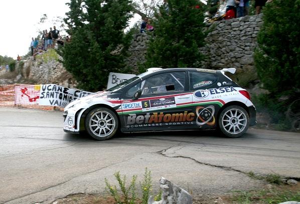 adamuccio tridici vincitori 8° rally 5 comuni