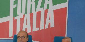 conferenza stampa adezione severo martini a forza italia