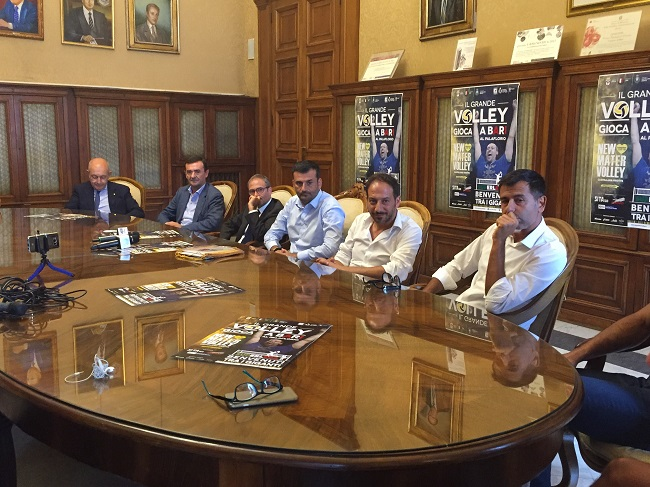 conferenza stampa new mater volley castellana grotte