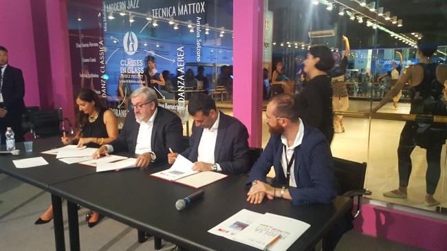 firma protocollo d'intesa polo delle arti