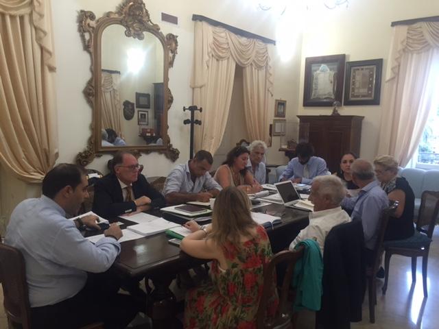 riunione giunta comune taranto