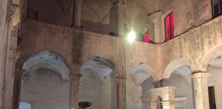 gravina convento santa sofia durante la serata inaugurale del progetto