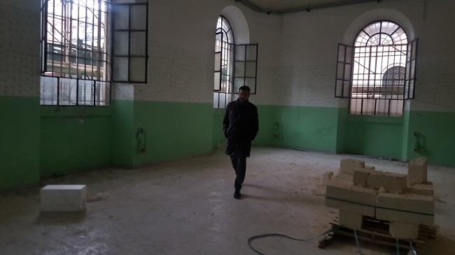 caserma carabinieri nella ex Manifattura tabacchi - sopralluogo di decaro