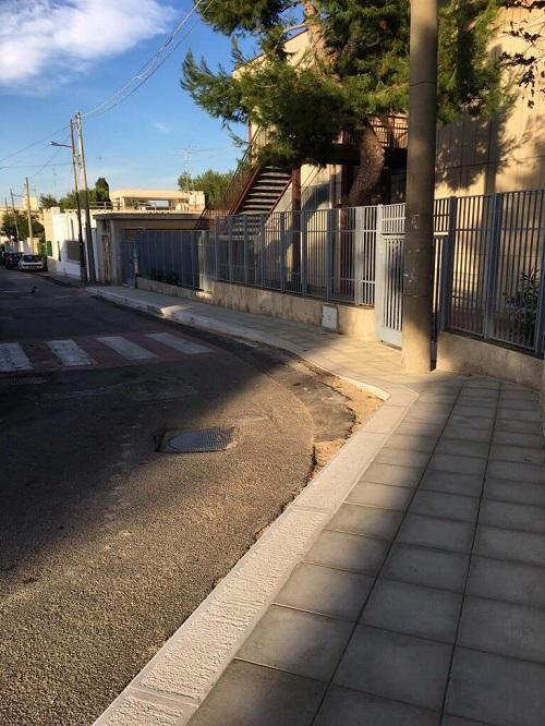 proseguono interventi manutenzione strade e marciapiedi nel municipio V