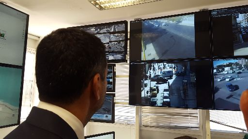 test sistema di controllo centralizzato del traffico