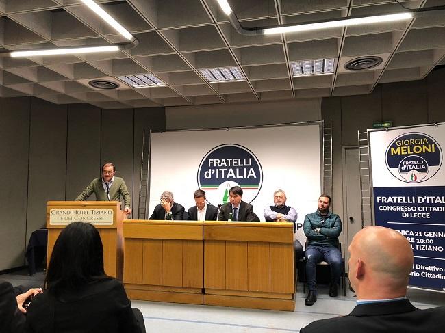 congresso cittadino Fratelli d'Italia lecce