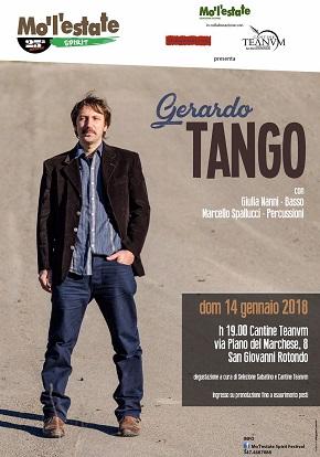 locandina gerardo tango mo'l'estate