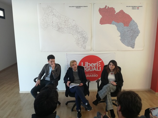 conferenza stampa liberi e uguali