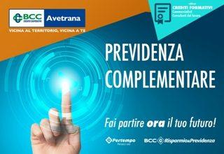 locandina 'previdenza complementare'