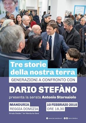 manifesto dario stefàno iniziativa manduria