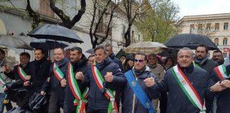 decaro a Foggia per la XXIII edizione della giornata della memoria e dell'ampegno in ricordo delle vittime innocenti delle mafie