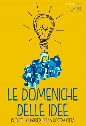 locandina 'le domeniche delle idee'