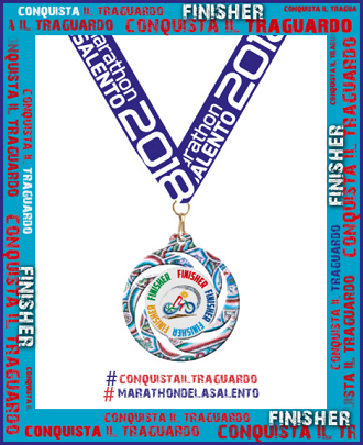 marathon del salento finisher