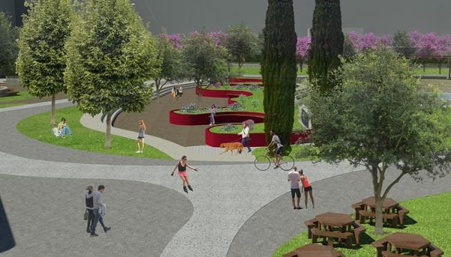 progetto esecutivo parco ex gasometro