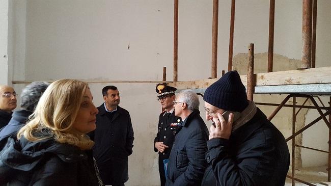 stazione dei carabinieri nella manifattura dei tabacchi