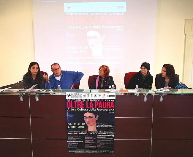 conferenza stampa 'oltre la paura'