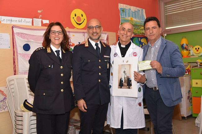donazione ospedale polizia locale