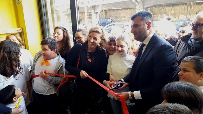 inaugurazione il nuovo centro servizi per famiglie a libertà