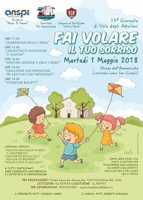 manifesto festa degli aquiloni 2018