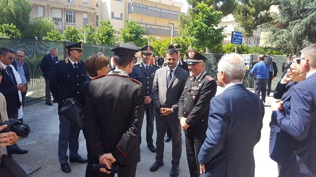 avvio cantiere nuova stazione carabinieri