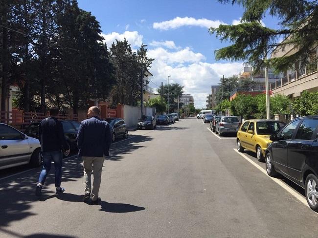 completati lavori di manutenzione di strade e marciapiedi municipio V