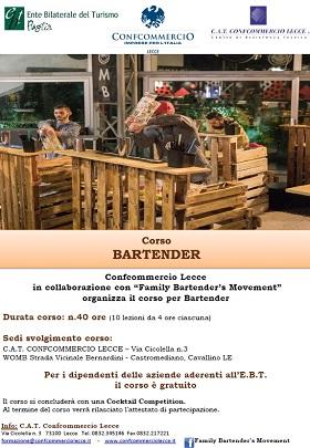 locandina bartender