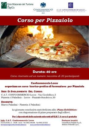 locandina corso pizzaiolo 2018- confcommercio