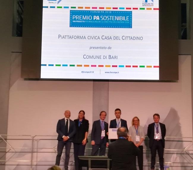 premio forum pa sostenibile - piattaforma civica