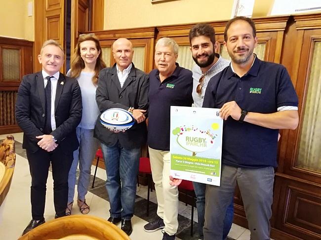 presentazione rugby nei parchi