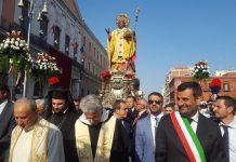 processione della statua di san nicola