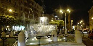 riempita la fontana in piazza moro