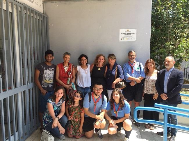 inaugurazione prima biblioteca interculturale di comunità alla casa delle culture