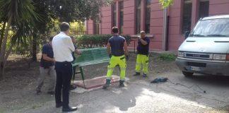 lavori apertura del giardino al pubblico musti