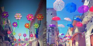 le gallerie colorate