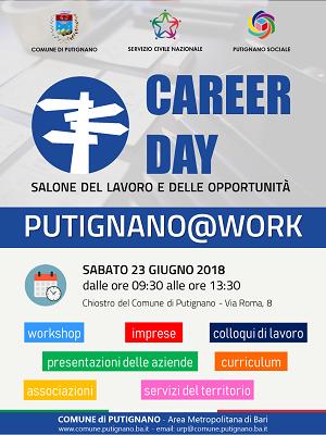 locandina career day