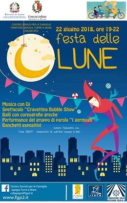 locandina festa delle lune