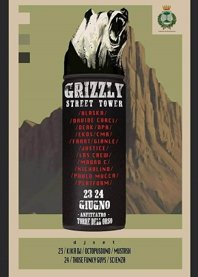 locandina grizzly street tower