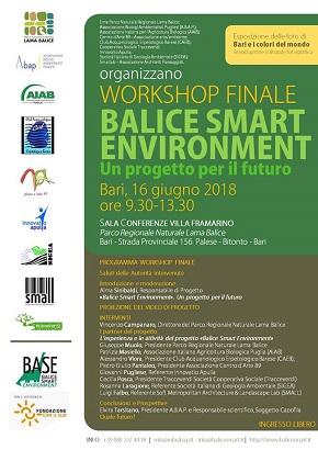 locandina workshop finale 'balice smart environment'