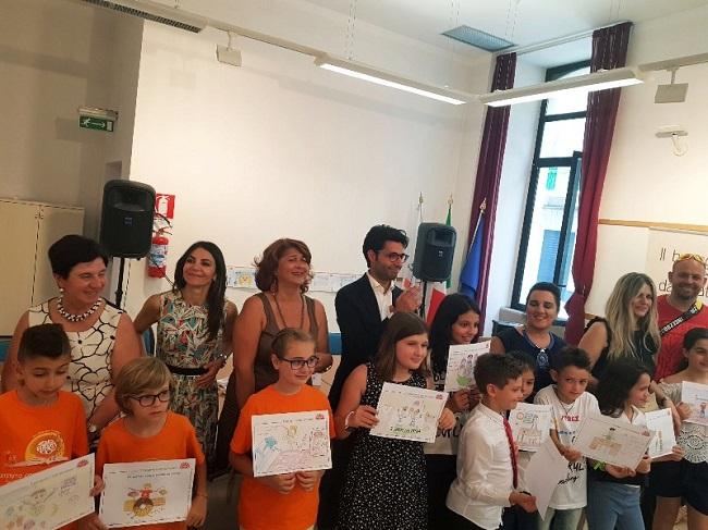 premiazione alunni progetto Il buongiorno si vede dal mattino